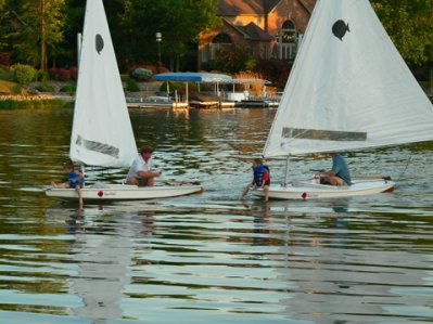 Sunfish Sailing at ISC