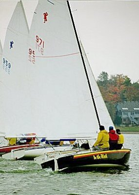 Highlander Sailing at ISC